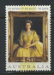 Australia SG 1449  Used  QE II birthday