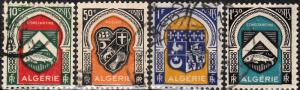 Algeria #210-225 Used