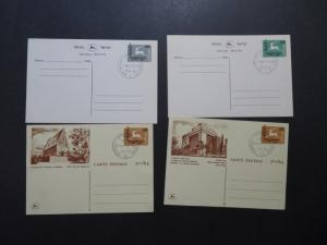Israel 1957 - 1963 24 Postal & Reply Cards / FDC or Event Cancels - M287