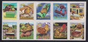 New Zealand # 1650, Popular Culture, Block of 10, NH, 1/2 Cat.