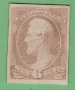 $US Sc#159p4 M/VF, Plate Proof on card, Cv. $300