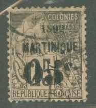 Martinique 29 Used F-VF
