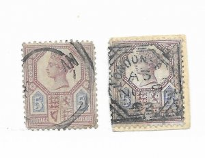 Great Britain #118 Faults - Stamp - CAT VALUE $12.50 PICK ONE