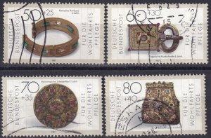 Germany #B658-61 F-VF Used CV $4.30 (S10101)