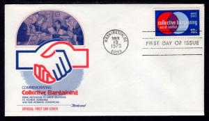US 1558 Collective Bargaining Fleetwood U/A FDC