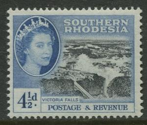 Southern Rhodesia- Scott 86 - QEII Definitives -1953- MVLH - Single 4.1/2d Stamp