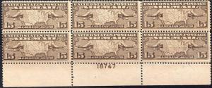 U.S. C8 F+ PBlk/6 NH 18747 (120718a)