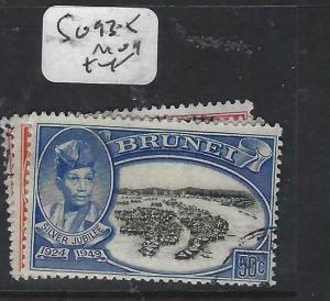 BRUNEI  (PP0905B)  SILVER JUBILEE SG 93-5  VFU