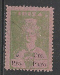 Spain - Postal or Revenue? 3-28-21-  no gum-
