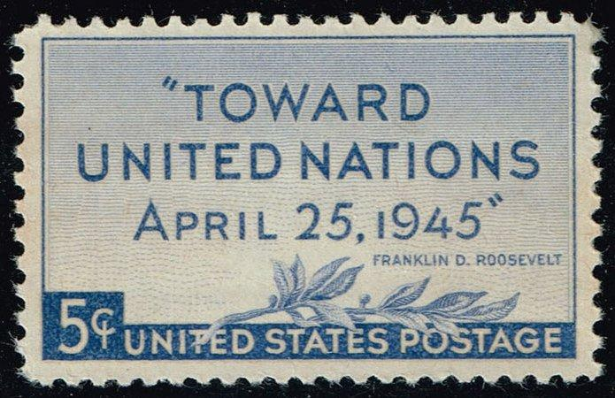 US #928 United Nations Conference; MNH (0.25)