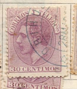 Spain 1882 Early Issue Fine Used 30c. 265350