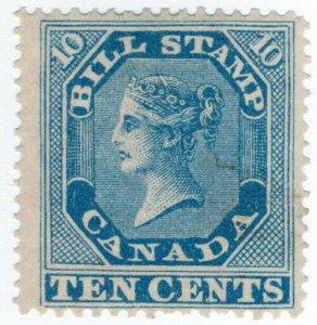 (I.B) Canada Revenue : Bill Stamp 10c