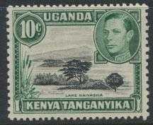 Kenya Tanganyika Uganda KUT SG 135 perf 13 x 11¾   - Mint lightly Hinged  se...
