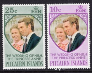 Pitcairn Islands 135-136 MNH VF