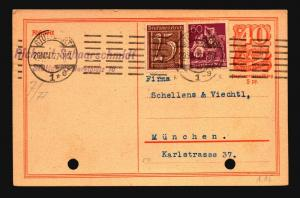 Germany 1927 Uprated Postal Card - Z15664