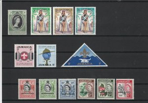 Jamaica Mint Never Hinged Stamps ref 22059