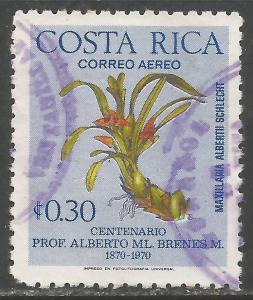 COSTA RICA C654 VFU ORCHIDS Z7271