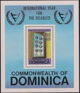 Dominica 1981 #738 MNH. Year of the disabled
