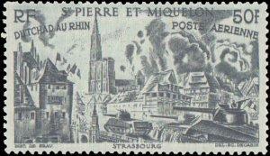 St. Pierre & Miquelon #C9-C14, Complete Set(6), 1946, Hinged