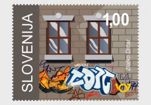Slovenia 2020 Definitives Mirrors of our attitudes toward the environment 5v MNH