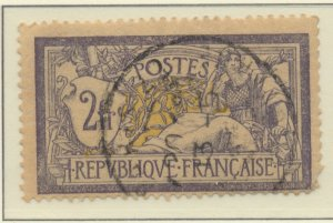 France Stamp Scott #126, Unused, Cancelled with Full Gum, Crease - Free U.S. ...