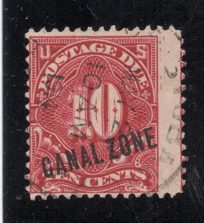 CZ#J3 Postage Due - Used - Year of Issue Cancel Date