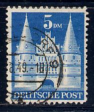 Germany Deutsche Post Scott # 661, used, variation wmk