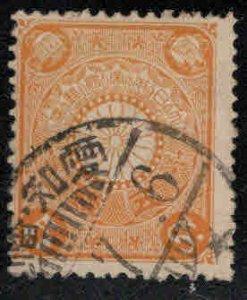 JAPAN Scott 100 Used stamp