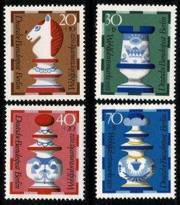 GERMANY BERLIN 1972 HUMANITARIAN RELIEF FUND MINT (NH) SG B424-B427 P.14 SUPERB