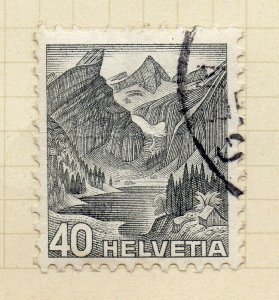 Switzerland 1935 Early Issue Fine Used 40c. NW-150346