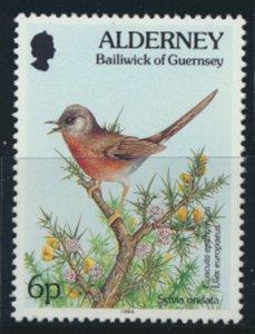 GB Alderney  SG A65 MNH  6p Dartford Warbler Birds 1994 SC# 75 See scan