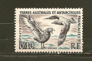 French Antarctic Territory 13 Skua MNH