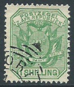 Transvaal, Sc #159, 1sh Used