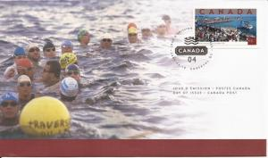 2004 Canada FDC Sc 2022 - Tourist Attractions - Traversee Internationale