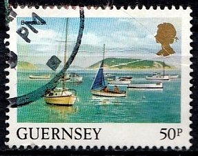 Guernsey 1984 SG. 313 used (10808)