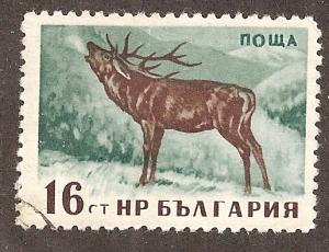 Bulgaria 1006 - Cto - Red Deer Stag (cv $0.40)