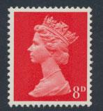 GB   Machin - Mint never hinged - SG 738 - 8d