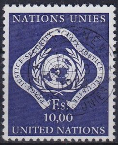 UNO Genf [1970] MiNr 0010 ( O/used )