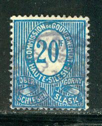 Upper Silesia Scott # 6, used