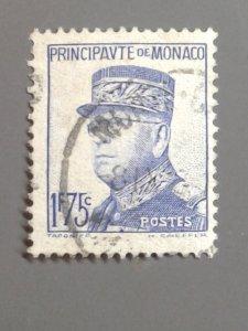 Monaco 157 F-VF Used. Scott $ 10.50