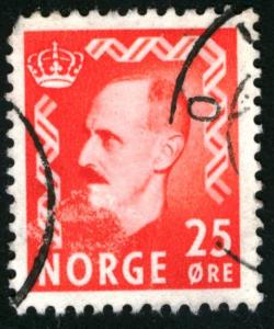 NORWAY #310, USED FAULT - 1950 - NORWAY006