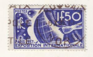 J15213 JLstamps 1937 france part of set used #320 paris expo