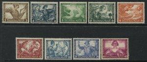 Germany 1933 Semi-Postals complete set  mint o.g. hinged