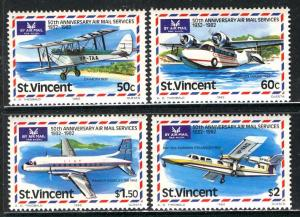 St Vincent; 1982; Sc. # 643-646; **/MNH Cpl. Set