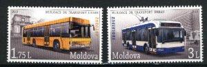 Moldova   Buses  Mint NH VF 2013 PD
