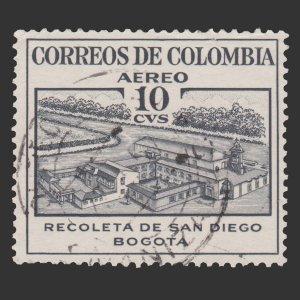 COLOMBIA 1954 SCOTT # C240. USED