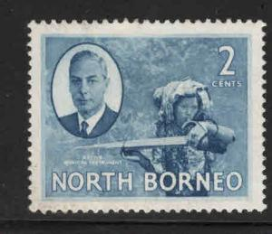 North Borneo Scott 245 MH*  stamp expect similar centering
