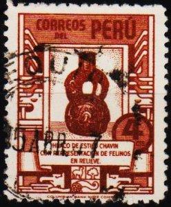 Peru. .1938 4c S.G.694 Fine Used