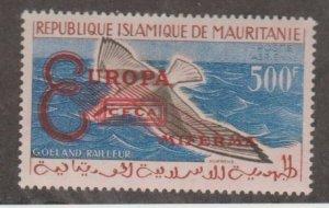 Mauritania Scott #C16 Stamp - Europa Overprint - No Box - Mint Single