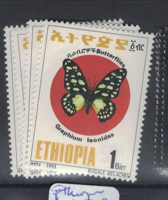 Ethiopia Butterfly SC 1357-60 MNH (10dpt)